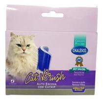 Escova Massageadora Catnip Gato Coçadinha Chalesco -