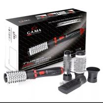 Escova Modeladora Gama Turbo Ion 3000 Rotating Styler 127v -