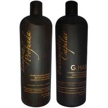 Escova Progressiva G-Hair Marroquina 2x1 litro - G-hair inoar