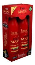 Escova Progressiva Ingel Maxx Organic Forever Liss 2x1000ml -