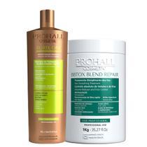 Escova Progressiva Orgânica Vegana Burix One 1l + Botox Blend Repair 1kg - Prohall