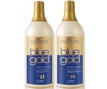 Escova Progressiva Salvatore Blue Gold- 2x1L