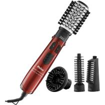 Escova Rotativa Philco Ceramic Spin Ion Brush 1100W PEC05V Vermelha
