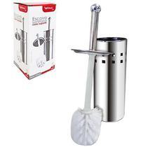 Escova sanitaria com suporte redondo de inox 23x10,5cm de ø na caixa - Wellmix