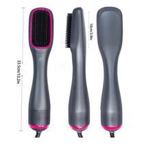Escova secadora alisadora e secadora e modeladora hairstar kld-806 -