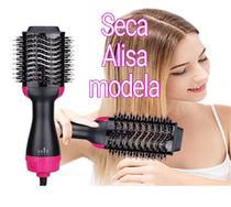 Escova secadora alisadora modelador de cabelo - PROMOSHOP