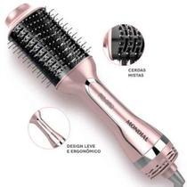 Escova secadora alisadora mondial rose 1200w Es02 -