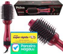 Escova Secadora Alisadora Philco Soft Beauty Cherry PEC13 BIVOLT -