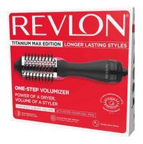 Escova Secadora de Cabelos Titanium Max Edition 1100 watts Preta - Revlon -