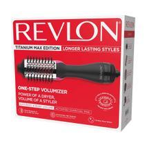 Escova Secadora de Cabelos Titanium Max Edition 1100W Revlon -