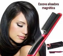 escova secadora quente alisadora magnética - AMVSHOP7
