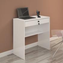 Escrivaninha 1 Gaveta Andorinha JCM Móveis Branco -