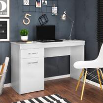 Escrivaninha Com 1 Porta 1 Gaveta Vitória Branco - Demobile