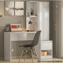 Escrivaninha com Armário 1 Porta 1 Gaveta Morada Demobile - Demóbile