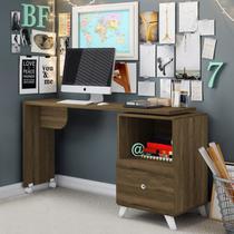 Escrivaninha com Tampo Giratório 1 Gaveta Carinho Albatroz Móveis Cedro -