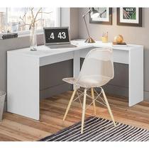 Escrivaninha De Canto Home Office 29400  Branco - Demóbile