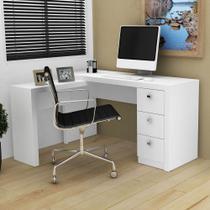 Escrivaninha de Canto Me4101 Branco - Tecno mobili