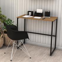 Escrivaninha Mesa De Escritório Notebook Estilo Industrial - Dicarlo