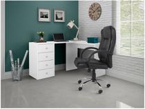 Escrivaninha/Mesa para Computador 4 Gavetas - BRV Móveis BC 62-06