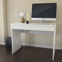 Escrivaninha Mesa para Computador 6080 Cor Branco - Jb bechara
