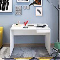Escrivaninha/Mesa para Computador Slim - Branco - Artany -