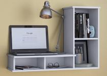 Escrivaninha Para Mesa De Computador Suspensa De Estudos - Clickforte