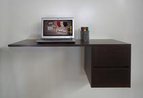 Escrivaninha Suspensa Mesa para Computador ou Notebook - Tabaco - Formalivre