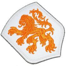 Escudo Brasão Países Baixos Patch Bordado Para Camisa Roupa - Br44