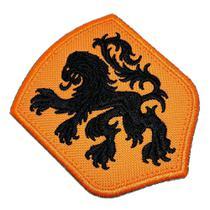 Escudo Países Baixos Holanda Patch Bordado Termo Adesivo - Br44