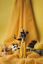 Escultura Oxum amarela 15 cm resina - Lua Mística - 100% Original - Loja Oficial