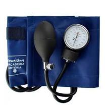 Esfigmomanômetro aneróide azul esfh20az  - premium -
