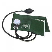 Esfigmomanômetro aneróide verde esfh20vd  - premium -