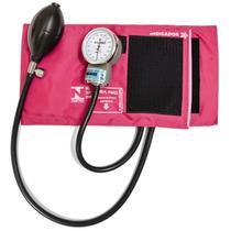 Esfigmomanometro Aparelho de Pressão Arterial PAMED Rosa - Pa Med
