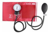 Esfigmomanômetro Aparelho de Pressão Vermelho - Premium
