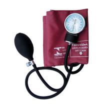 Esfigmomanômetro Aparelho de Pressão Vinho - Premium
