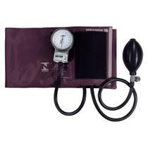 Esfigmomanometro Aparelho Medidor De Pressão Arterial Vinho PAMED - Pa Med