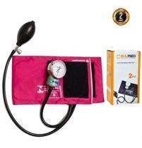Esfigmomanômetro Medidor De Pressão Arterial P A Med Com Estojo - Cores - P.A. Med