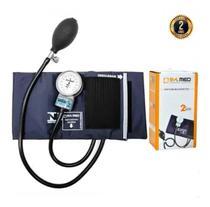 Esfigmomanômetro Medidor De Pressão Arterial P A Med Com Estojo - Cores - P. A. Med