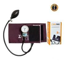 Esfigmomanômetro Medidor De Pressão Arterial P A Med Com Estojo - Cores - Pamed