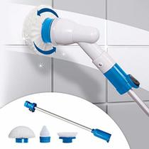 Esfregão Escova De Limpeza Vassoura Elétrica Mop Power Scrub - Spin Scrubber