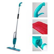 Esfregão Spray Mop Magico Limpeza Casa Vassoura Limpa Chao Reservatorio Borrifador - Ab Midia