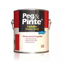 Esmalte Brilhante Alumínio Galão 3,6 Litros Peg Pinte -