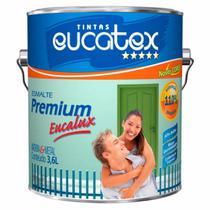 Esmalte Brilhante Premium Branco 225ml Eucatex -