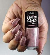 Esmalte Light Pink Coleção Liquid Sand Free 9ml - Bella Brazil -
