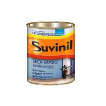 Esmalte Seca Rápido base água brilhante 900ml platina Suvinil -