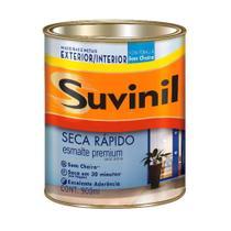 Esmalte Seca Rápido base água brilhante 900ml vermelho Suvinil -