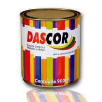 Esmalte Sintético Brilhante Dascor Amarelo 900ml -