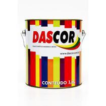 Esmalte Sintético Brilhante Dascor Amarelo Cromo 3.6l -