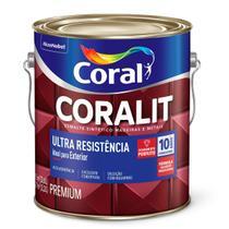 Esmalte Sintético Coralit Ultra Resistência Alto Brilho Amarelo Galão 3,6 Litros - Akzo nobel premium