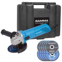Esmerilhadeira Angular 4. 1/2 750w G1910k/br2 Gamma -220v -